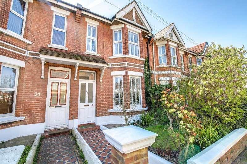 4 Bedrooms Terraced House for sale in Franklin Road, Portslade, East Sussex, BN41 1AF