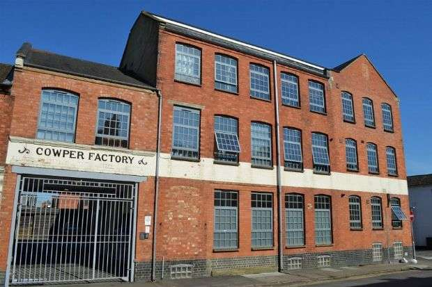 2 Bedrooms Flat for sale in Cowper Street, The Mounts, Northampton NN1 3QR