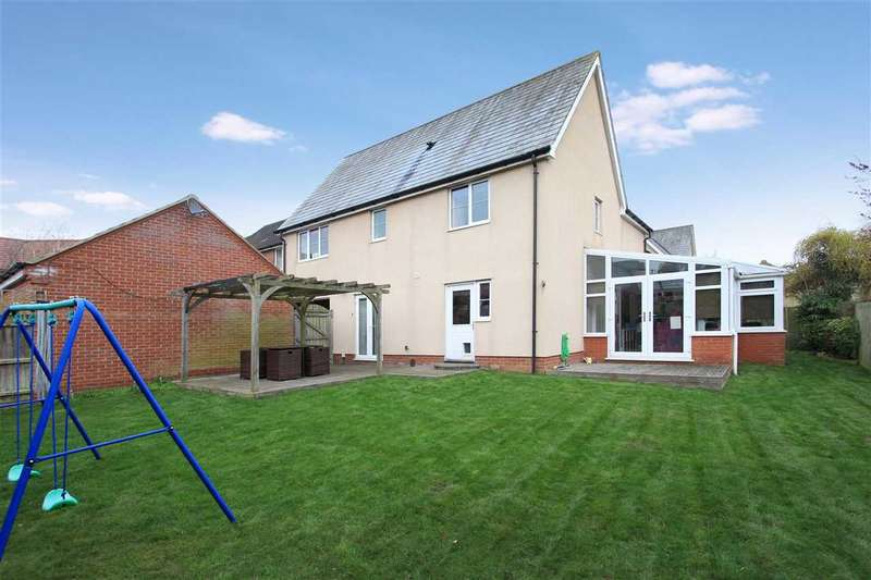 5 Bedrooms Detached House for sale in Quantrill Terrace, Grange Farm, Kesgrave, Ipswich