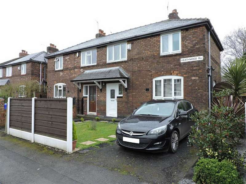 3 Bedrooms Semi Detached House for sale in Heathwood Road, Burnage, Manchester