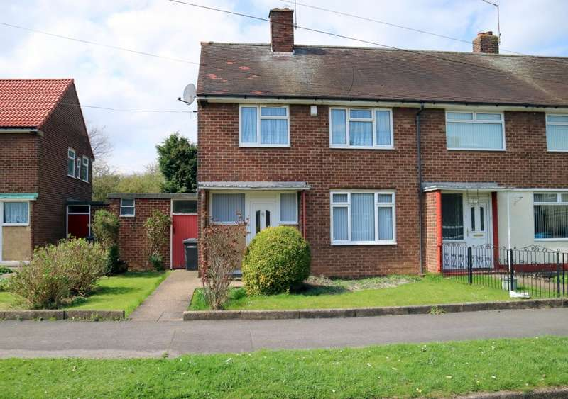 3 Bedrooms End Of Terrace House for sale in Hathersage Road, Hull, HU8