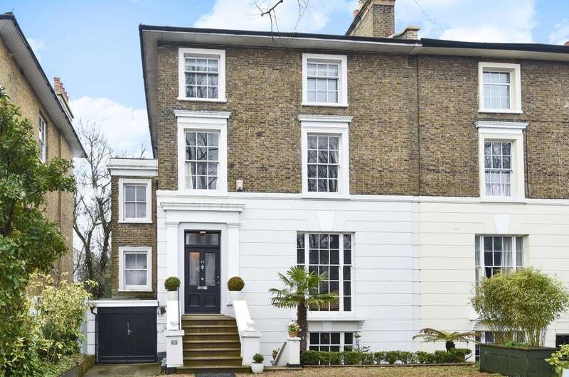 5 Bedrooms Semi Detached House for sale in Shooters Hill Road Blackheath SE3