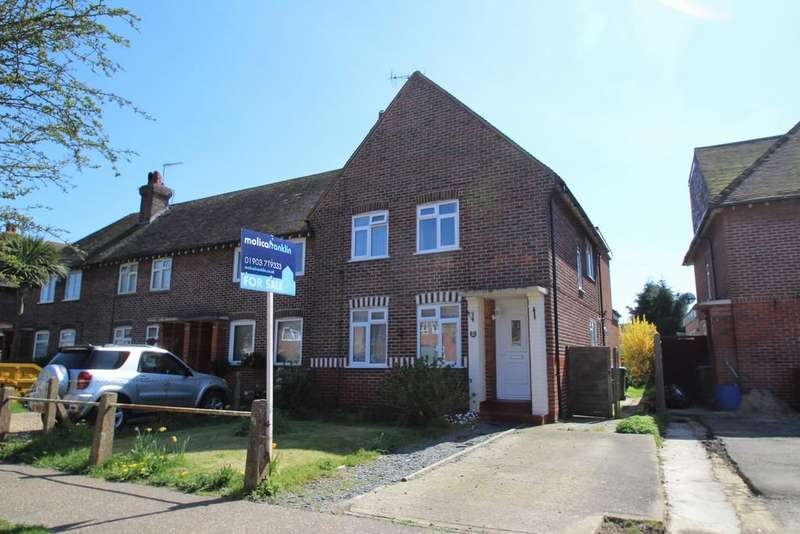 4 Bedrooms End Of Terrace House for sale in Roundstone Drive, East Preston