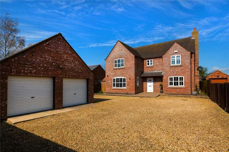 4 Bedrooms Detached House for sale in Low Road, South Kyme, Lincoln, Lincolnshire, LN4