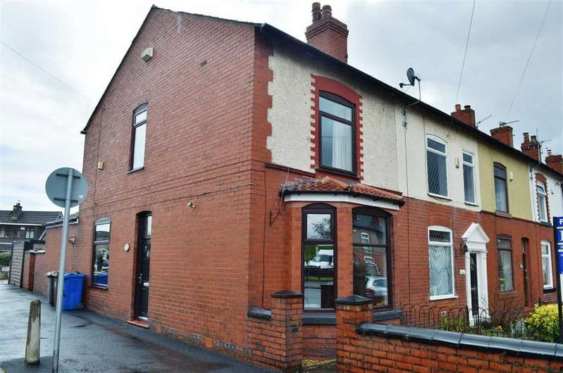 3 Bedrooms End Of Terrace House for sale in Wigan Road, Atherton