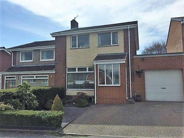 3 Bedrooms Semi Detached House for sale in Alderside Crescent, Lanchester DH7