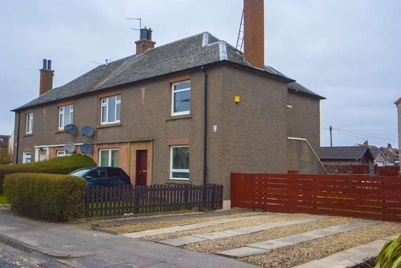 2 Bedrooms Flat for sale in 23 Loanhead Avenue, Grangemouth, Falkirk FK3 9EG