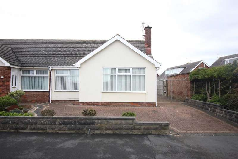2 Bedrooms Semi Detached Bungalow for sale in Fairfax Avenue, Blackpool