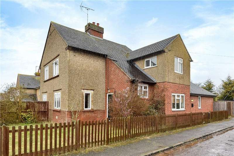 3 Bedrooms Semi Detached House for sale in Chicheley Road, North Crawley, Buckinghamshire
