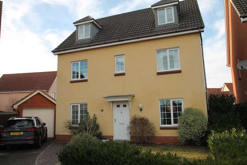 6 Bedrooms Detached House for sale in Century Drive, Kesgrave, Ipswich, IP5