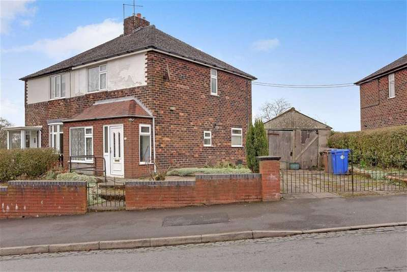 3 Bedrooms Semi Detached House for sale in Sandy Road, Sandyford, Stoke-on-Trent