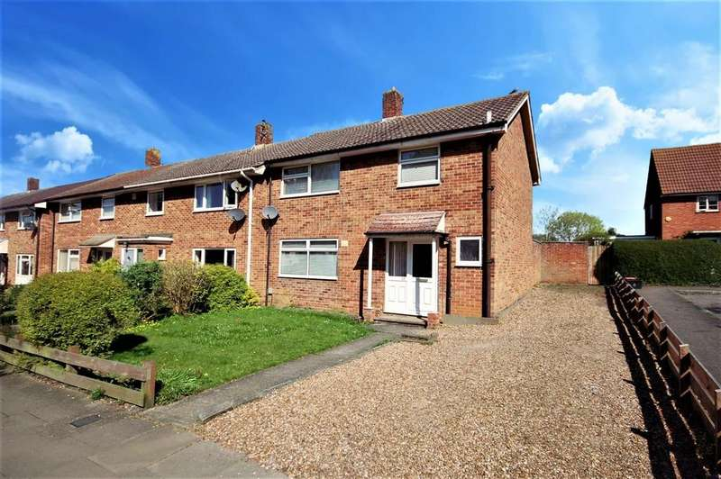 3 Bedrooms End Of Terrace House for sale in Sish Close, Stevenage