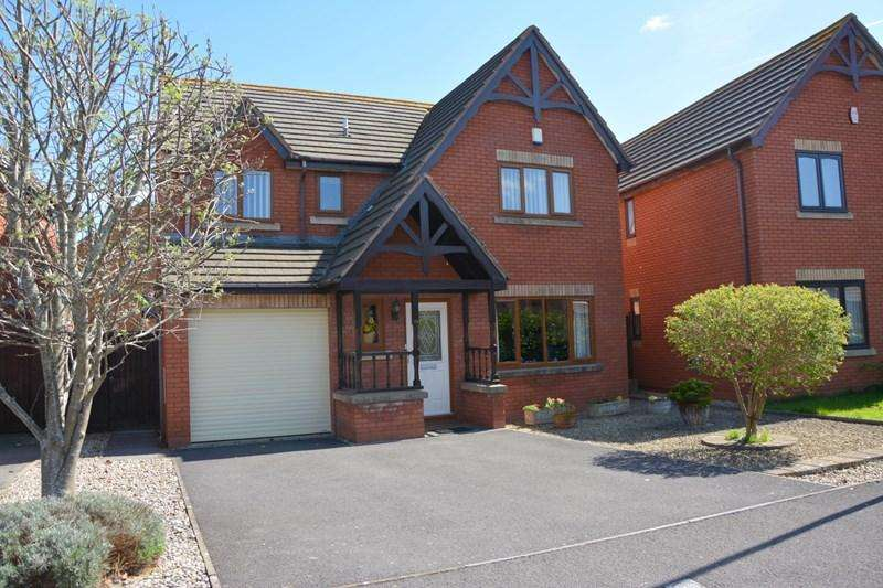 4 Bedrooms Detached House for sale in Barrie Way, Burnham-On-Sea