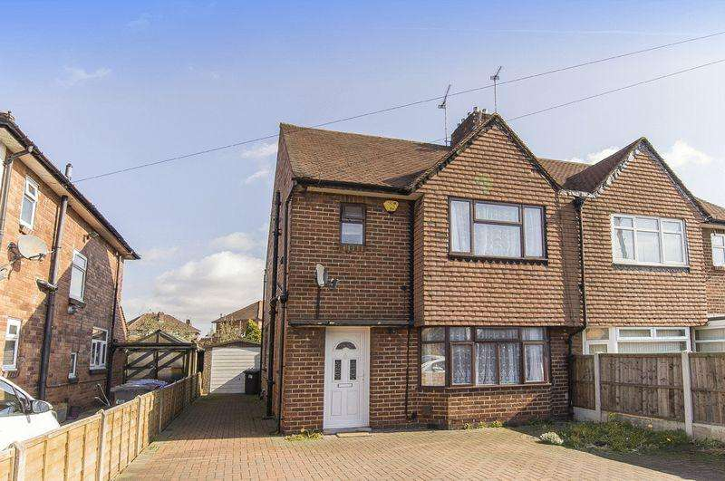 3 Bedrooms Semi Detached House for sale in LITTLEOVER LANE, DERBY