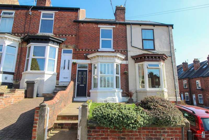 3 Bedrooms Terraced House for sale in Chantrey Road, Woodseats