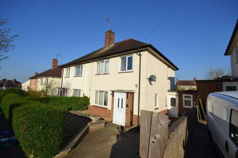 3 Bedrooms Semi Detached House for rent in Gloucester Crescent, Delapre, Northampton, NN4
