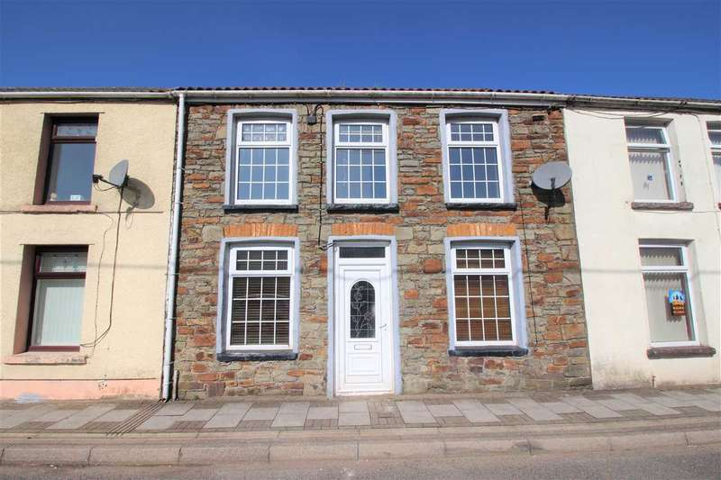 3 Bedrooms Terraced House for sale in Abercerdin, Gilfach Goch