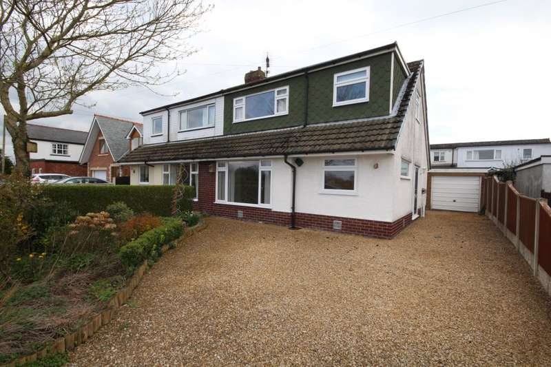3 Bedrooms Semi Detached House for sale in Rawcliffe Road, St. Michaels, Preston, PR3