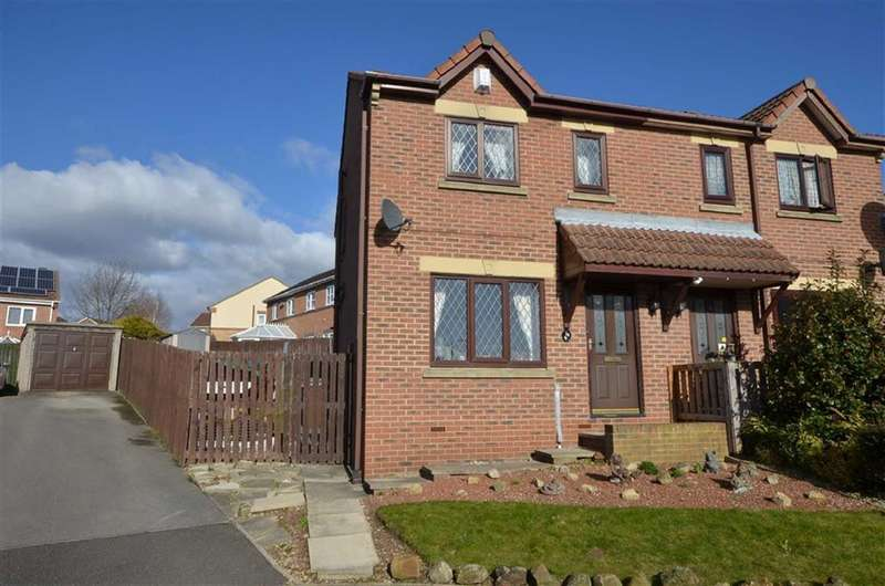 3 Bedrooms Property for sale in Andersen Court, Townville, Castleford, WF10
