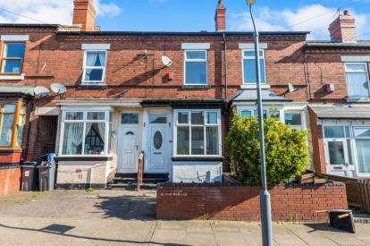 2 Bedrooms Terraced House for sale in Aylesford Road, Handsworth, Birmingham, West Midlands