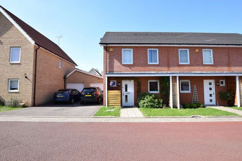 3 Bedrooms End Of Terrace House for sale in Buccaneer Road, The Parks, Bracknell, Berkshire, RG12
