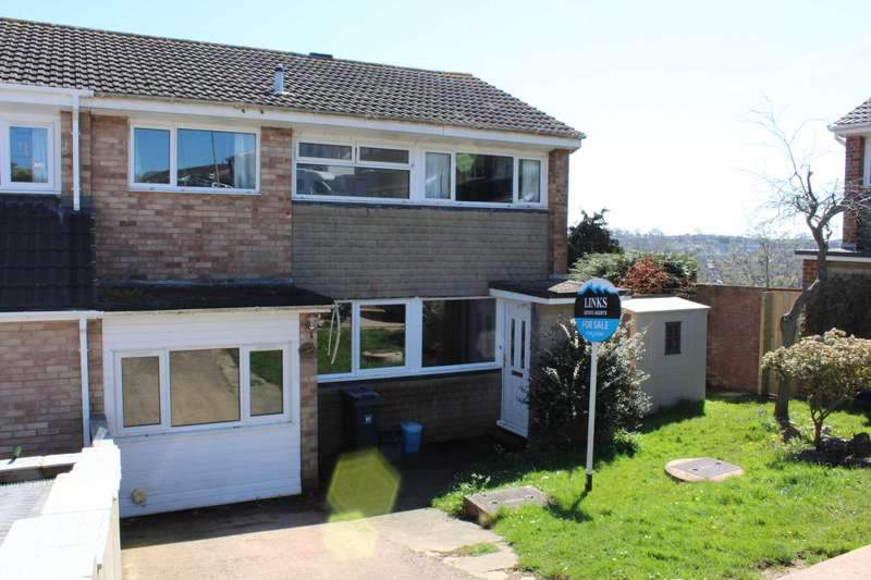 4 Bedrooms End Of Terrace House for sale in Langstone Drive, Exmouth