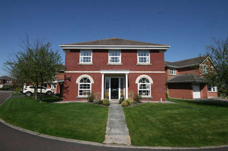 4 Bedrooms Detached House for sale in Crofters Walk, Lytham St. Annes