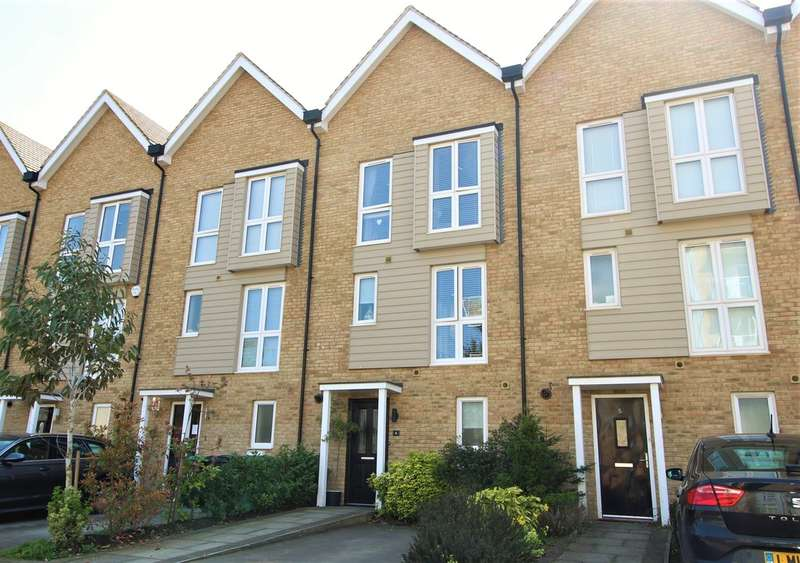 3 Bedrooms Town House for sale in Nash Mills Wharf, Hemel Hempstead
