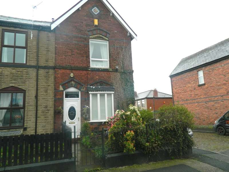 2 Bedrooms End Of Terrace House for sale in Harvey Street, Bury, BL8