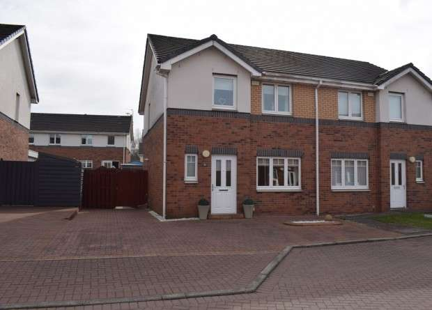 3 Bedrooms Semi Detached House for sale in Daviot Street, Drumoyne, G51