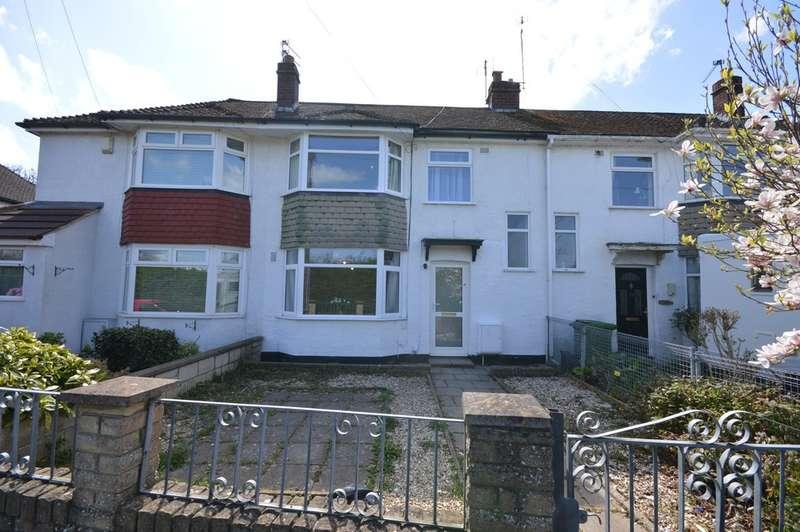 3 Bedrooms Terraced House for sale in Gaston Avenue, Keynsham, BS31