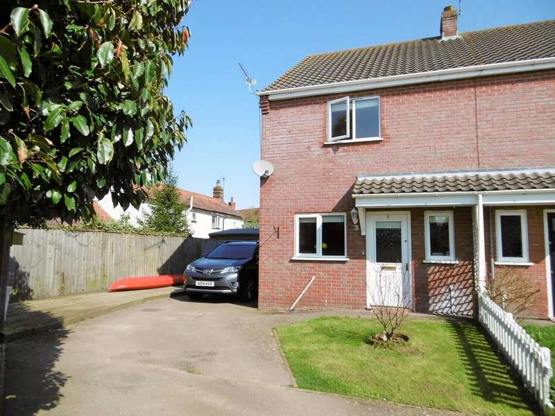 2 Bedrooms Semi Detached House for sale in Cawston