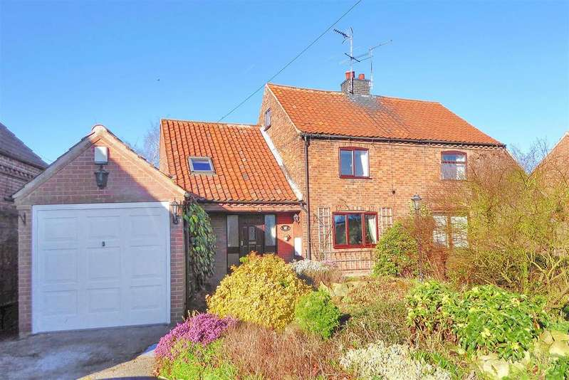 3 Bedrooms Semi Detached House for sale in Main Street, Bathley, Newark