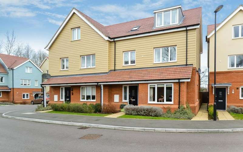 3 Bedrooms Semi Detached House for sale in Aurora Close, Watford