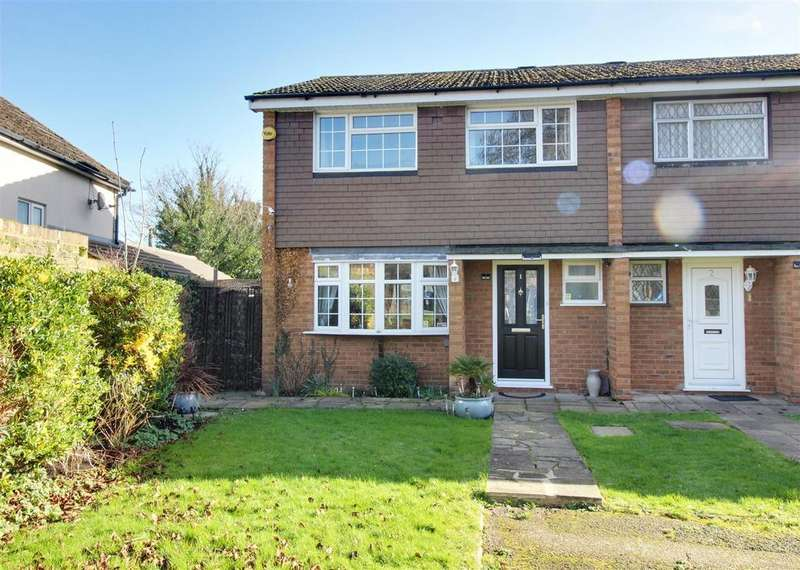 3 Bedrooms End Of Terrace House for sale in Meux Close, Cheshunt,