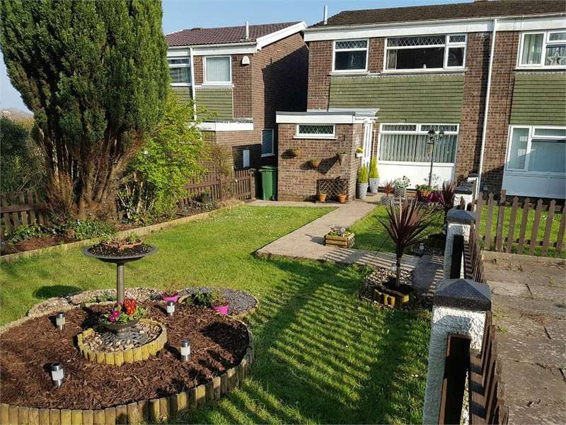 3 Bedrooms Semi Detached House for sale in Glenwood, llanedeyrn, Cardiff