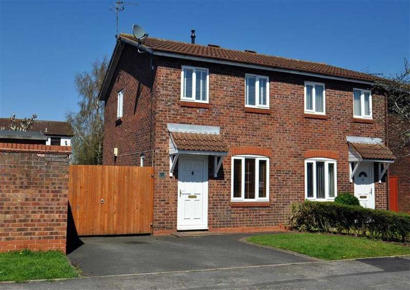 2 Bedrooms Semi Detached House for sale in 59, Canterbury Drive, Perton, Wolverhampton, WV6