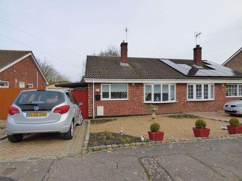 2 Bedrooms Semi Detached Bungalow for sale in Patricia Close, Lowestoft