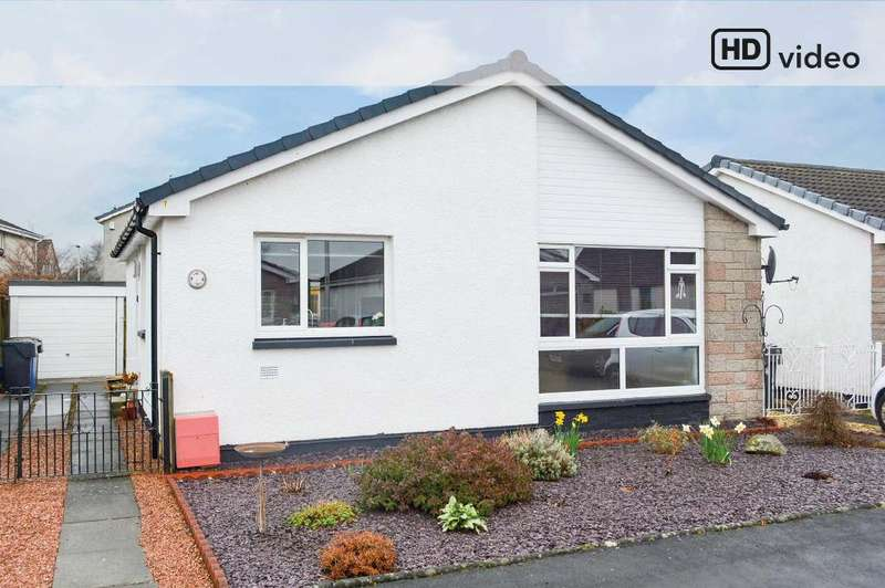 3 Bedrooms Detached Bungalow for sale in Fraser Place, Causewayhead, Stirling, FK9 5RE