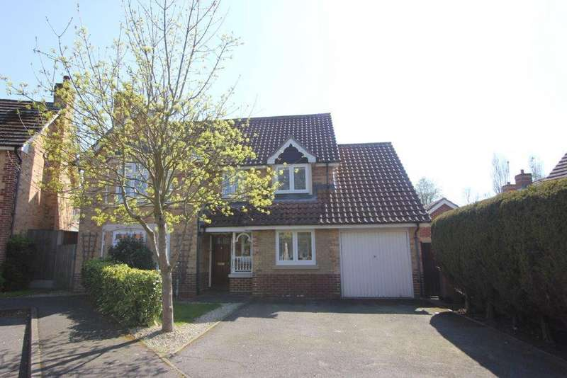 4 Bedrooms Detached House for sale in Roxwell Gardens, Hutton, Brentwood