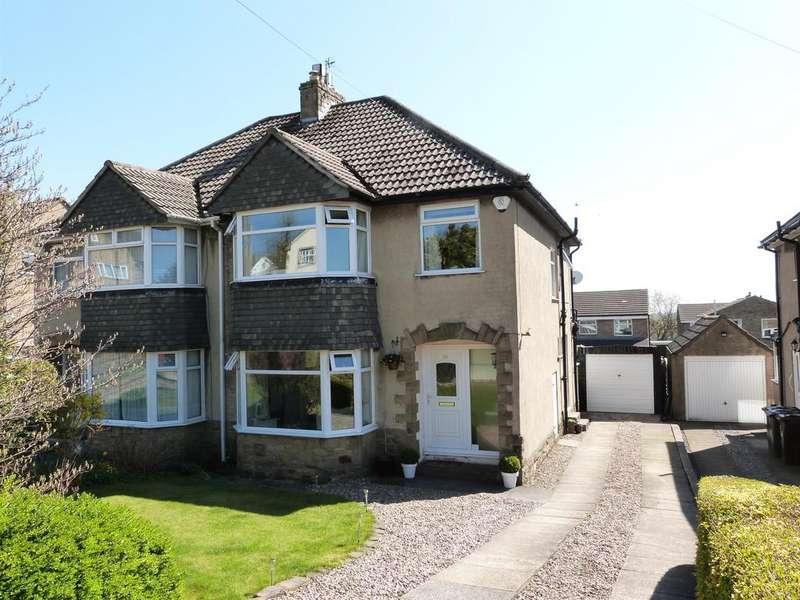 3 Bedrooms Semi Detached House for sale in Otley Road, Bingley, BD16 3DA