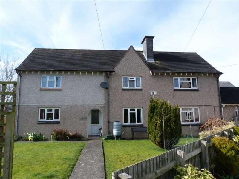 4 Bedrooms Semi Detached House for sale in The Marches, Main Street, Main Street, Caersws, Powys, SY17