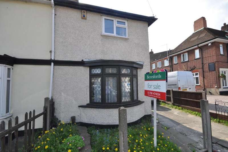 3 Bedrooms Maisonette Flat for sale in Slewins Lane, Hornchurch, Essex, RM11