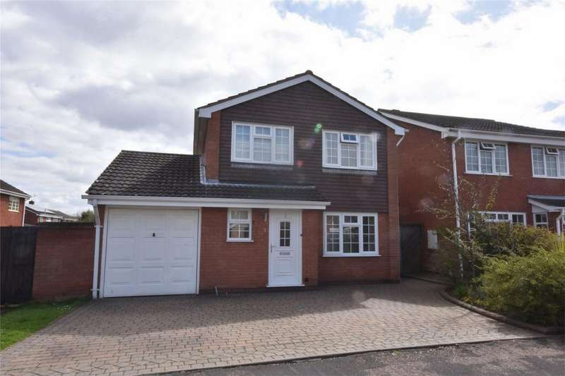 3 Bedrooms Detached House for sale in Freeford Gardens, Lichfield, Staffordshire