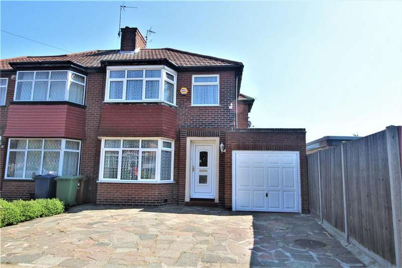 3 Bedrooms Semi Detached House for sale in Braithwaite Gardens, Stanmore