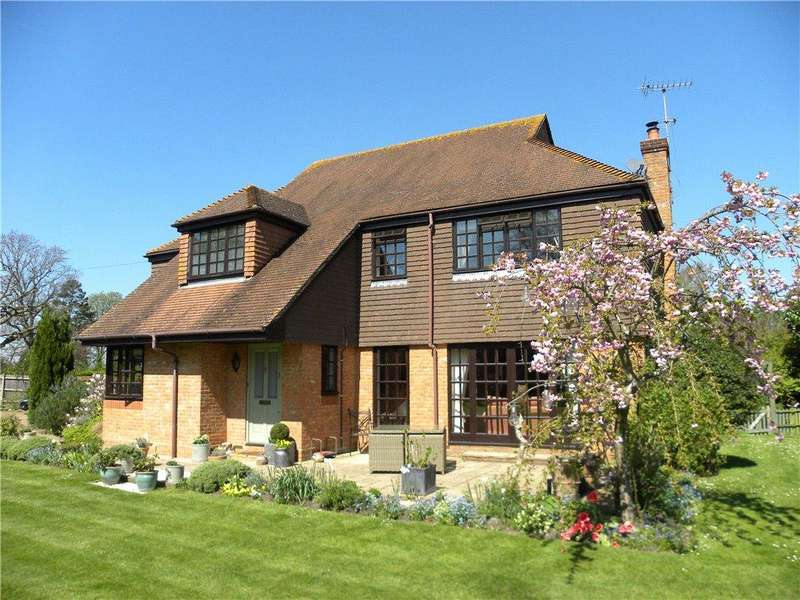 4 Bedrooms Detached House for sale in Burnhams Road, Bookham, Leatherhead, KT23