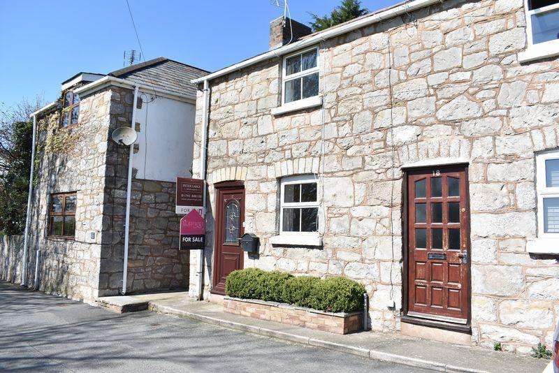 2 Bedrooms Terraced House for sale in Castle Street, Rhuddlan