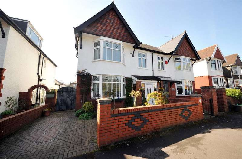 5 Bedrooms Semi Detached House for sale in Lake Road North, Roath Park, Cardiff, CF23