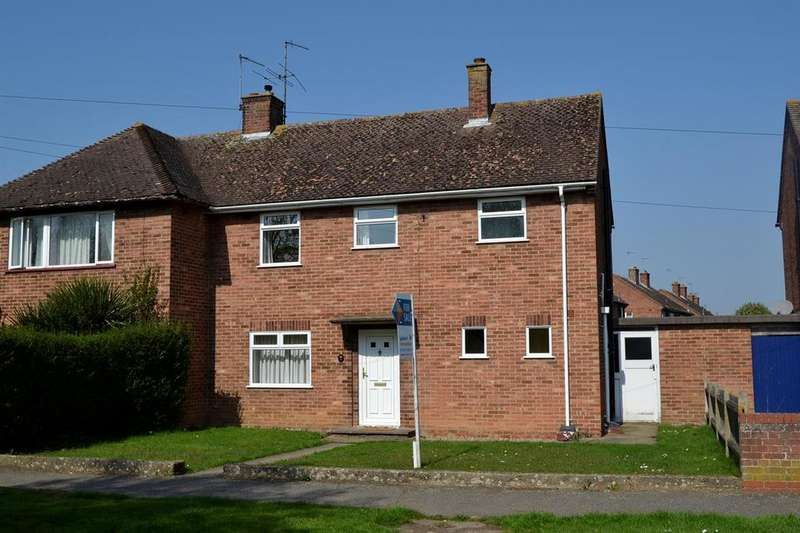 3 Bedrooms Semi Detached House for sale in Daniell Drive, Shrub End, Colchester