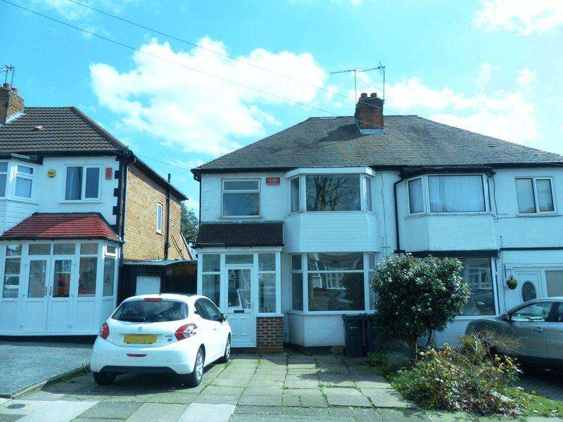 3 Bedrooms Semi Detached House for sale in Anstey Road, Perry Barr, Birmingham